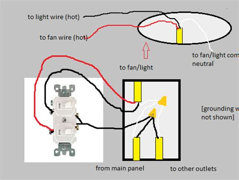 wiring diagram 2 lights switch tciaffairs