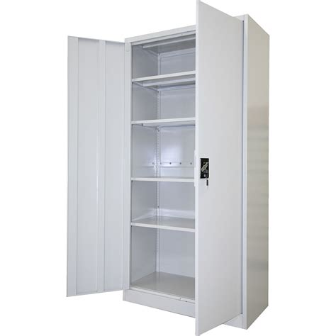 Metal Storage Cupboards by Metal Storage Cabinets With Doors Faacusa