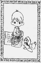 Precious Moments Coloring Pages Printable Lrg Coloringpages101 Pdf sketch template