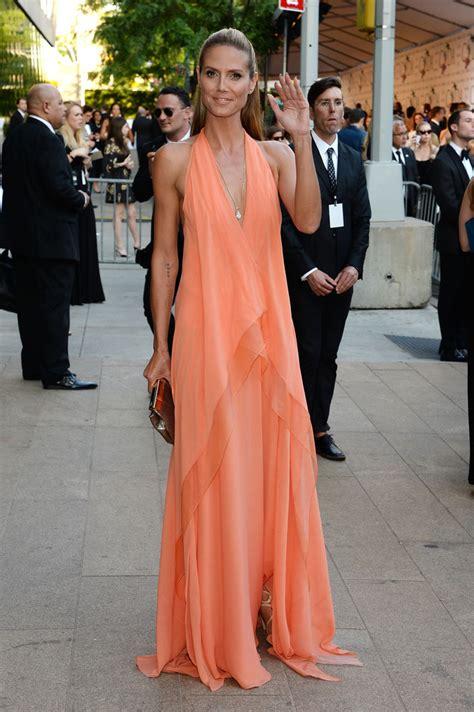 Heidi Klum Halter Dress Looks Stylebistro