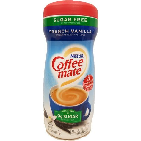 Nestle coffee mate french vanilla sugar free powder coffee creamer is an ideal way to create a delicious cup of coffee perfection. Nestle Coffee-Mate Sugar Free French Vanilla Powder | at ...