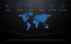 World Map on Your Desktop Creative Designs Desktop ...
