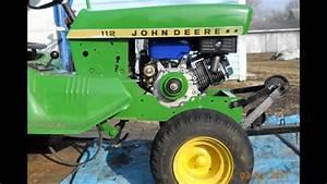 Making 11 Hp Engine Fit 112 John Deere