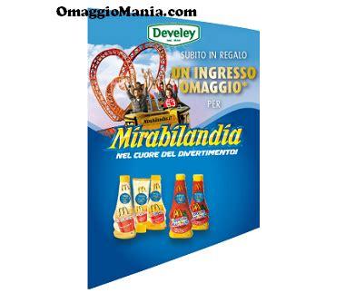 Ingresso A Mirabilandia by Ingresso Omaggio Mirabilandia Con Develey Omaggiomania