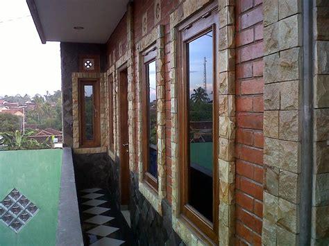 dinding rumah semakin cantik  batu alam  gratisan