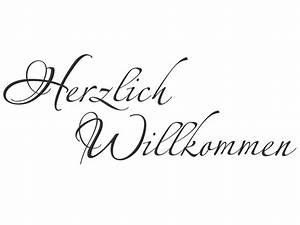 Herzlich Willkommen Bilder Zum Ausdrucken : wandtattoo herzlich willkommen f r den flur ~ Eleganceandgraceweddings.com Haus und Dekorationen
