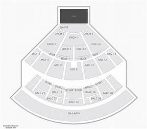 Saratoga Performing Arts Center  Spac  Seating Chart