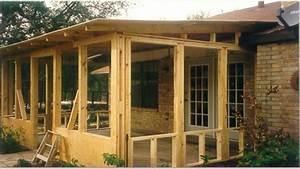 Small Patio Decks Screened Porch Plans Screen Porch