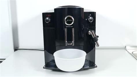 jura impressa c60 reinigung der jura impressa c60 kaffeemaschine anhand reinigungstabletten