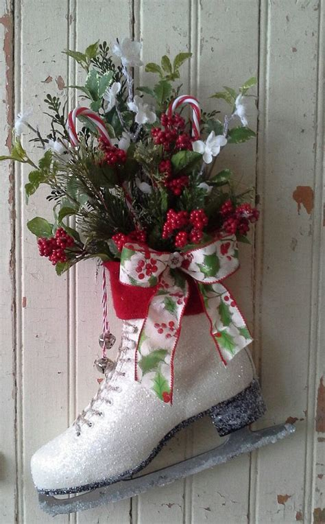 ice skate christmas ice skate holiday decor christmas