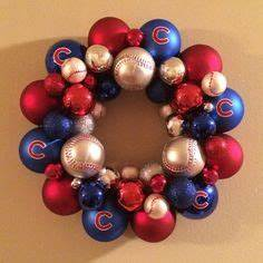 Chicago cubs Cubs and Christmas trees on Pinterest