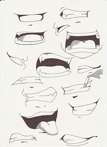 8 best images about manga mouth references on Pinterest ...