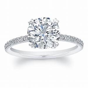 A guide to choosing round diamond engagement rings black for Round diamond wedding rings