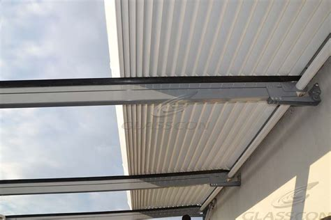 aluminum louver retractable pergolas glasscon gmbh