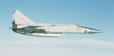 Modernization Prolongs Life of Russia's MiG-25 Spyplanes ...