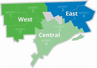 Planning Region Development Districts East West Detroit