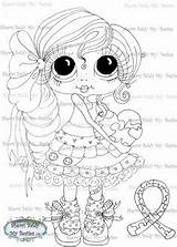 Coloring Baldy Sherri Pages Besties Digi Books Stamps Bestie sketch template