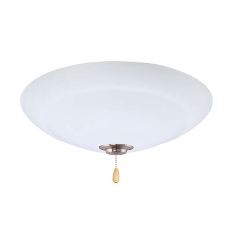 emerson ceiling fans lk180ledbs brushed steel led
