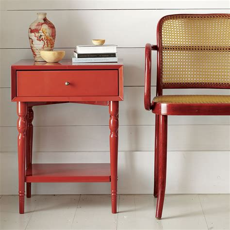 Nightstand West Elm by Turned Leg Nightstand From West Elm