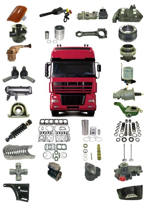 auto truck parts  industry spare parts