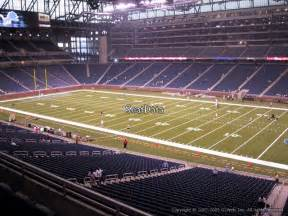 Ford Field Seat View