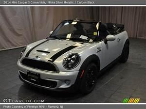 Mini White Silver : white silver metallic 2014 mini cooper s convertible carbon black interior ~ Maxctalentgroup.com Avis de Voitures
