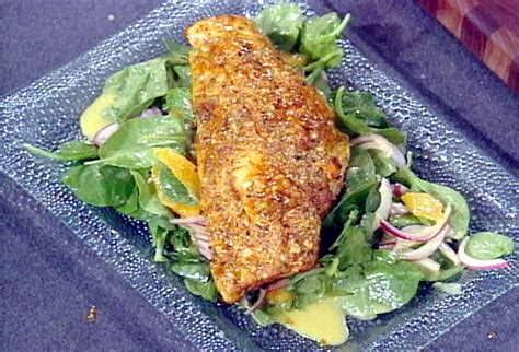 grouper recipes grilled fish food recipe paul gulf mexico salad orange sauce network paula fingers cooking dinner fillets parchment relish