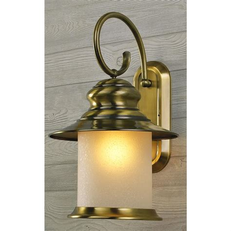 kenroy 174 crafted solid brass outdoor light 154222 solar