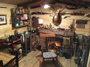 Guy Builds A Man Cave That Looks Like It U2019s Straight From