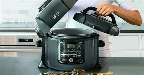fryer ninja cooker air pressure foodi combo combination amazon meal crispy juicy inside create mashable