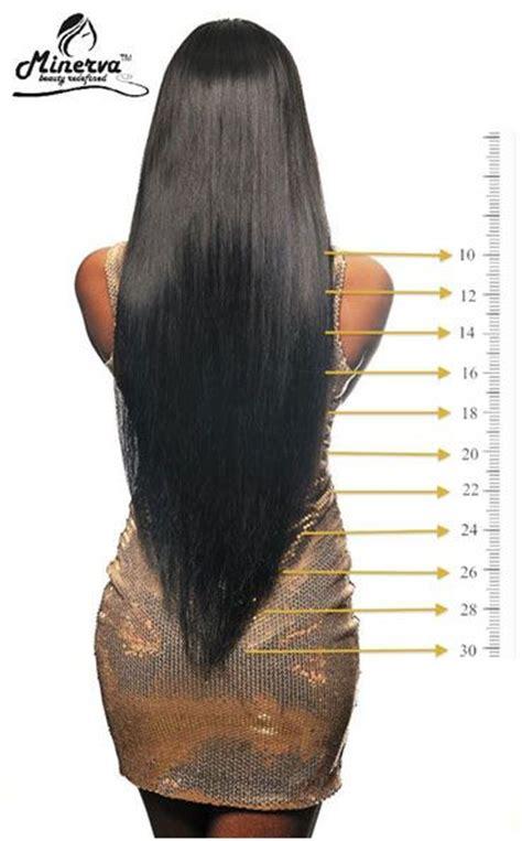 hair length chart makeup hair envies   hair