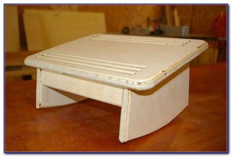 under desk foot stool diy footrest under desk desk stand up computer desk diy