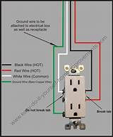Plastic Wiring Diagram For Electrical Receptacles