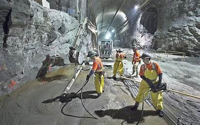 Workers Tunnels Underground Station Central Grand Wide