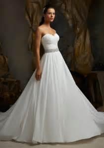 chiffon wedding gown gorgeous chiffon wedding dresses best wedding hairstyles haircuts