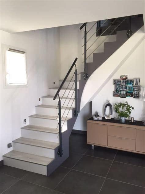 escalier bois ou beton maytop tiptop habitat habillage d escalier r 233 novation d escalier recouvrement d escalier