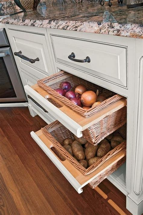 kitchen vegetable storage 12 storage ideas for fruits and vegetables icreatived 3434