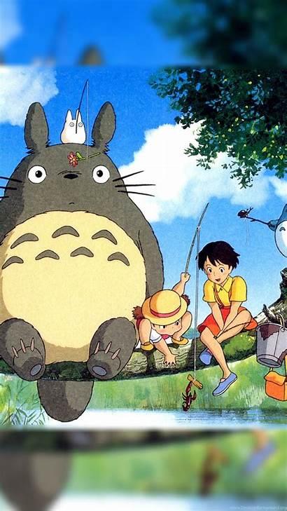 Totoro Neighbor Anime Manga Wallpapers Desktop Background