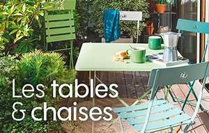 table de jardin conseils amenagement jardin With banc en teck pour jardin 10 tables de jardin pliantes extensibles jardinerie truffaut