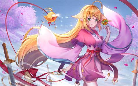 Fox Anime Wallpaper - desktop wallpaper tushan fox spirit matchmaker