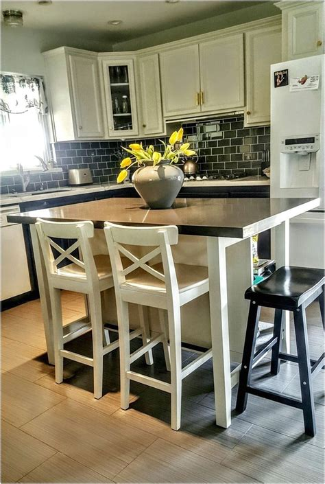 inexpensive ikea kitchen islands  seating ideas