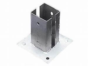 Support De Poteau : support pour poteau de sol fixer pas cher achat vente ~ Melissatoandfro.com Idées de Décoration