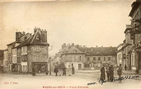 bureau magny en vexin place cartes postales anciennes