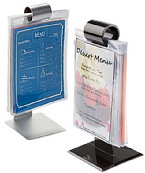 table tent sign holders clear acrylic displays