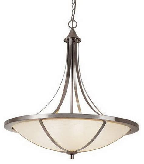 piston 6 light chandelier with frosted glass white and