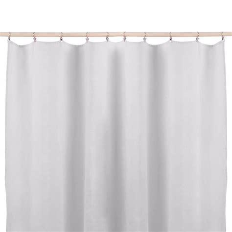 rideaux en lave rideau en lav 233 sans nouettes gris lab d 233 coration smallable