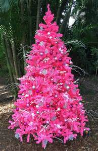 7 foot queen spruce pink artificial christmas tree unlit king of christmas
