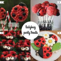 football centerpieces madebycristinamarie ladybug party treats