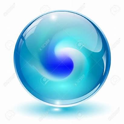 Glass Ball Clipart Sphere Crystal Shape Inside