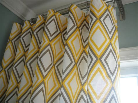 yellow and grey panel curtains yellow and gray curtain panels for the home